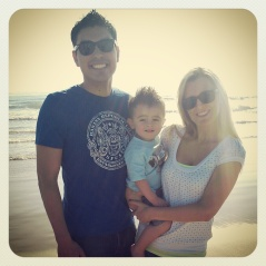Crystal, her Hubby, and Lil' Man Cam!