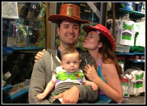 Toy Story Family? I think I see our 2013 Halloween Costumes...