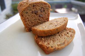 Zucchini Bread, I made muffins with this recipe and they were tasty!
